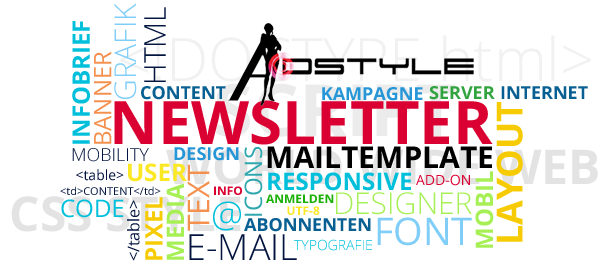 newsletter anmeldung adstyle design marketing. Black Bedroom Furniture Sets. Home Design Ideas